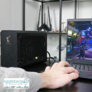 آموزش اتصال کارت گرافیک به لپ تاپ لنوو