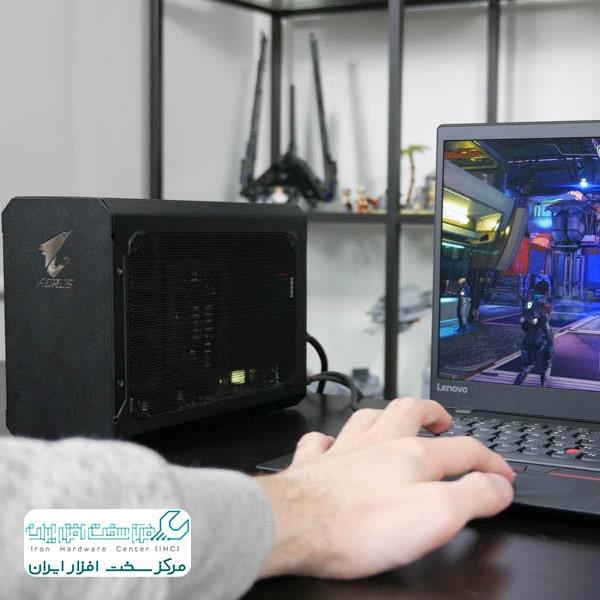 اتصال کارت گرافیک به لپ تاپ لنوو