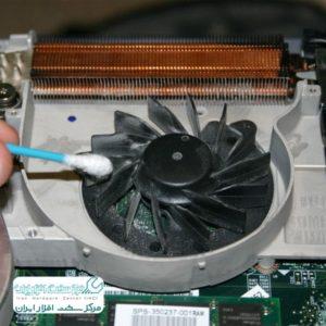 آموزش تمیز کردن کول پد لپ تاپ لنوو